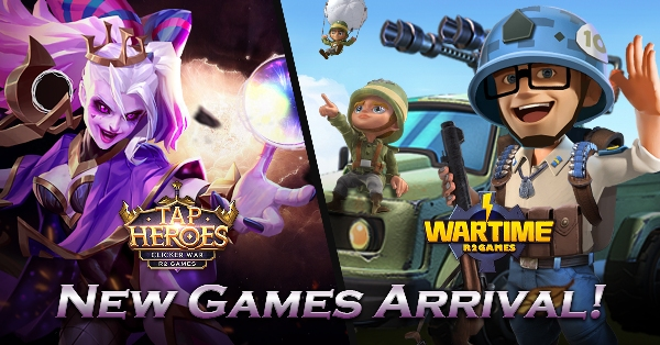 New games delivered in May! Find and Play on R2 Games