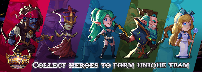 Taptap Heroes Banner